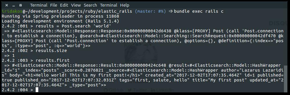 Rails console simple search