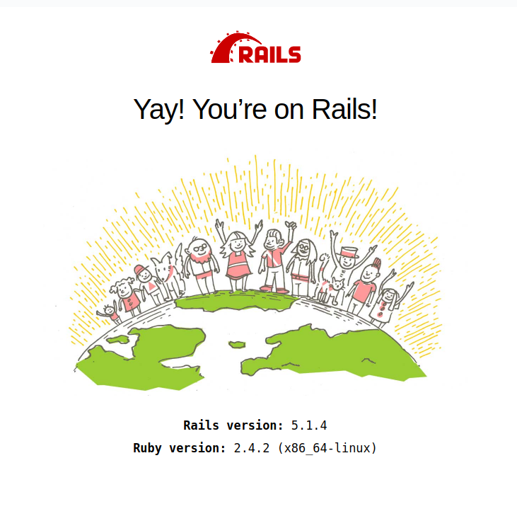 rails first run