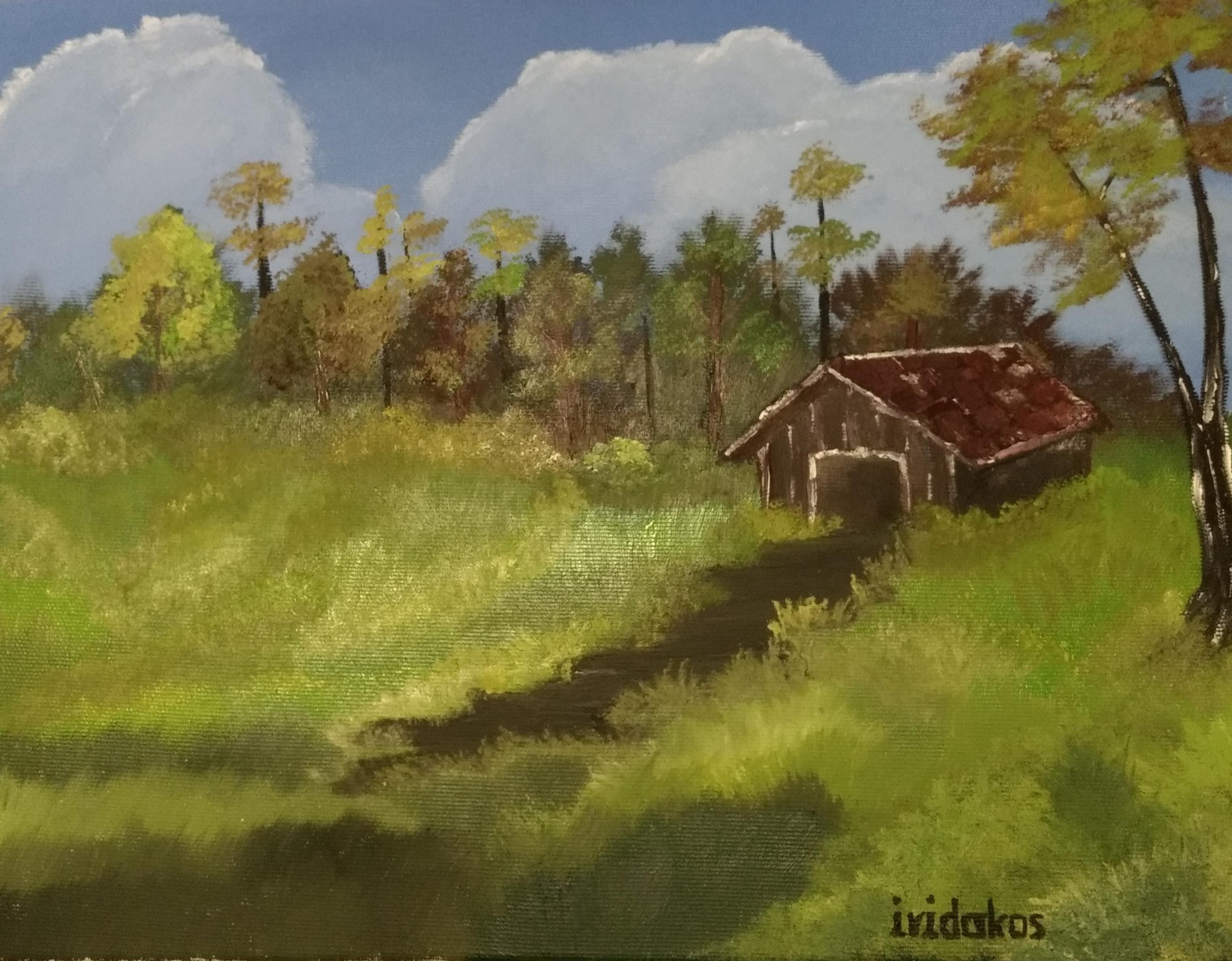 Meadow - Painting