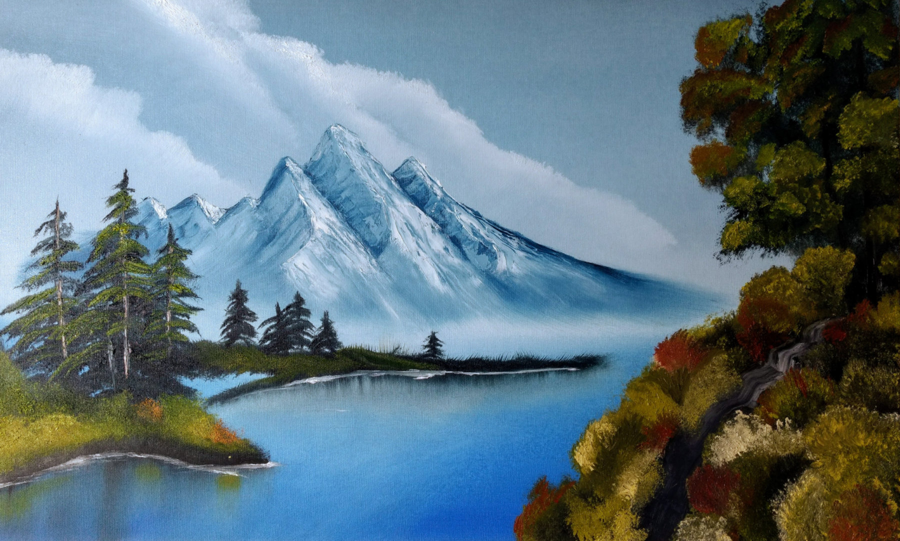 Mountains - Painting