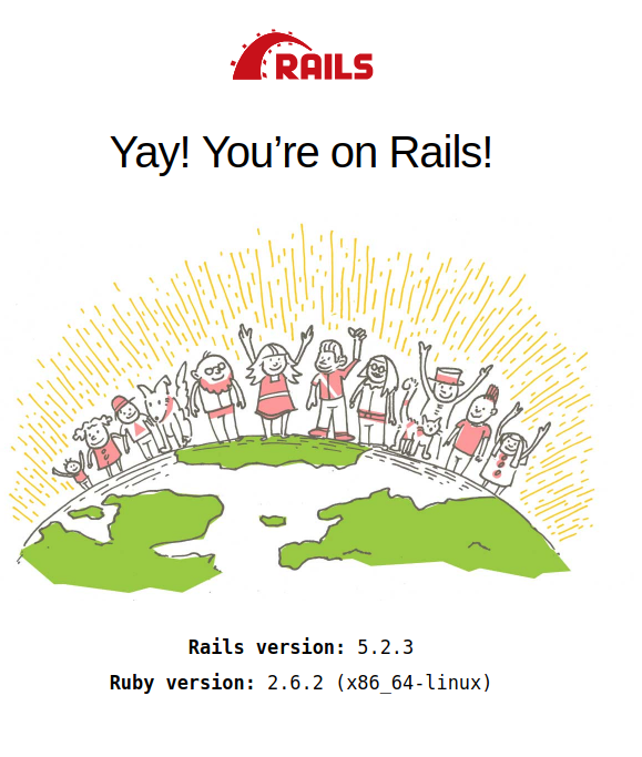 Rails new application