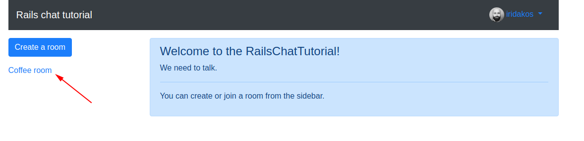 Creating a chat application from scratch using Rails and WebSockets